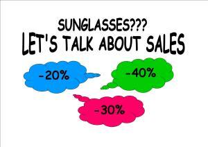 Sunglasses offer